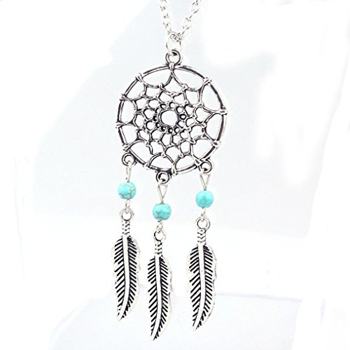 Willtoo® Retro Jewelry Dream Catcher Pendant Chain Necklace