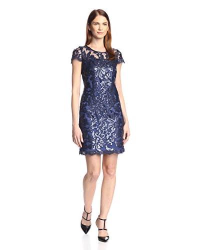 Donna Ricco Women's Sequin Lace Dress
