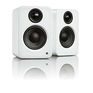 Kanto YU2GW Powered Desktop Speakers (Gloss White)