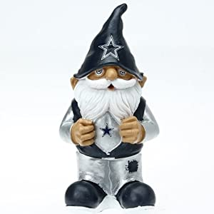 NFL Dallas Cowboys Football Garden Gnome by Forever Collectibles