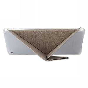 Moshi iGlaze VersaCover Origami Case with Wake/Sleep Function for iPad Mini (Velvet Gray)