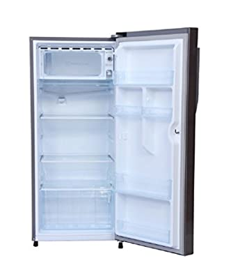 Haier 2157 BS-R Direct-cool Single-door Refrigerator (195 Ltrs, 5 Star Rating, Brushed Silver)