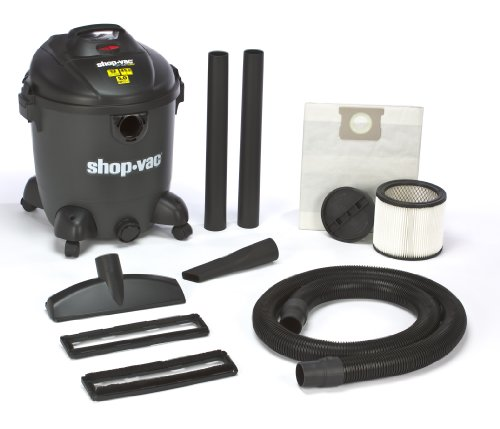 Shop-Vac 5867400 5.0-Peak Horsepower QSP Quiet Deluxe Wet/Dry Vacuum, 12-Gallon