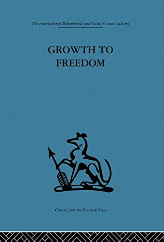 Growth to Freedom: The Psychosocial Treatment of Delinquent Youth