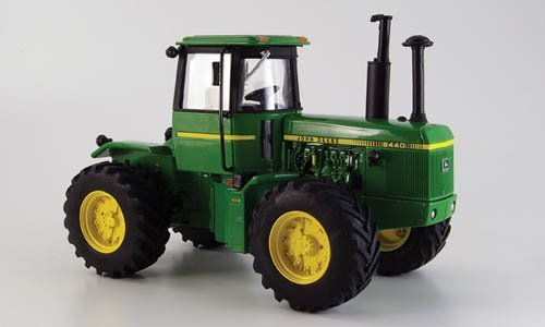 Britains John Deere Green And Yellow 8440 Tractor 1.32 Scale Diecast Model By Britains