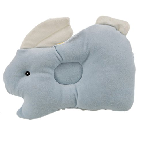 iecool Women's Sexy Soft Baby Pillow Infant Toddler Lovely Bedding Rabbit Baby Shaping Pillow Light Blue - 1