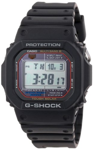 Casio Men's GWM5610-1 G-Shock Tough Solar Multi-Band Atomic Digital Sport Watch