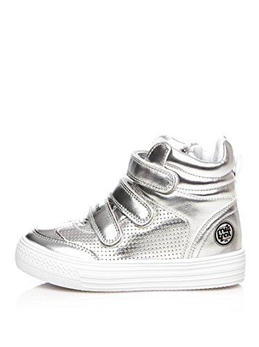Sneaker alte Mistral K1537 color argento, EU 31