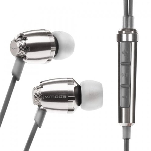 V-Moda Remix Remote In-Ear Headphones For iPhone & iPod - Chrome