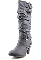 Rampage Eleanor Faux Leather Fashion Knee-High Boots