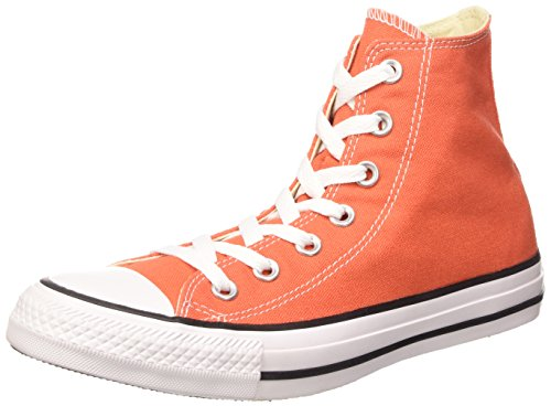 Converse Chuck Taylor All Star, Sneakers Unisex Adulto, Arancione (Van On Fire), 37