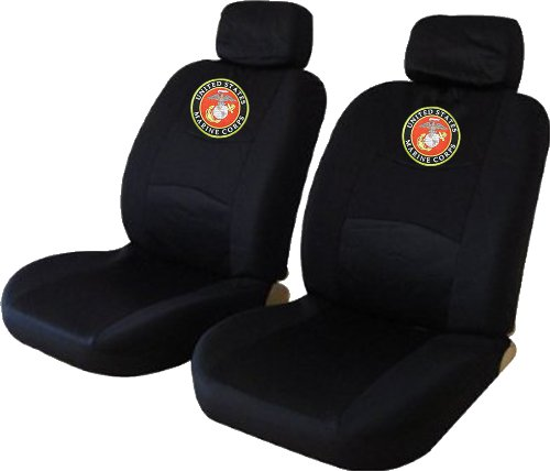 how about united states marine corps usmc low back seat cover