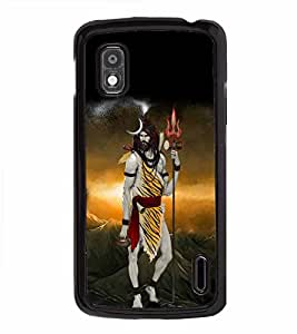 Vizagbeats Lord siva in tiger skin Back Case Cover for HTC DESIRE 826
