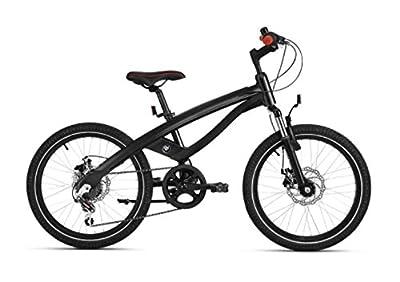 "BMW Genuine Junior Cruise Bike 20"" Wheels 6 Shimano Gears Black/ Red 80912412533"