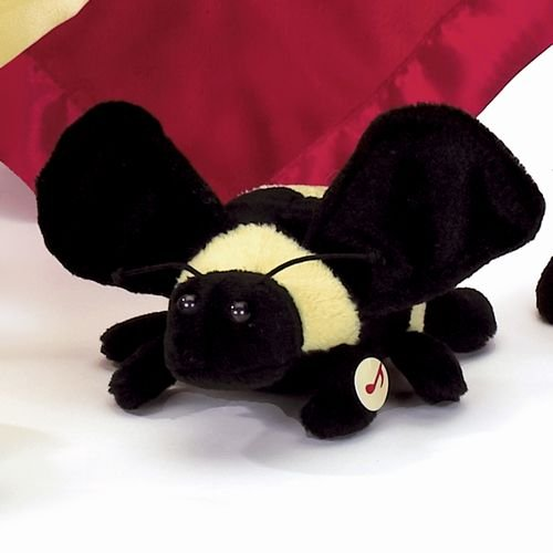 "Buzzy Bee 6"" Buzz Sound Plush Stuff Toy Bearington Bug Collection"