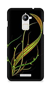 Amez designer printed 3d premium high quality back case cover for Coolpad Note 3 Lite (Abstract Dark 3)