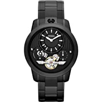 Fossil Grant Twist Stainless Steel Watch - Black Me1131