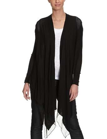 CK Calvin Klein Damen Shirt/ Langarmshirt,  KWR697 MV304 Schwarz (999) 36 (IT 42)