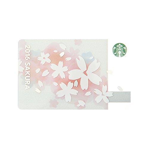スターバックス カード Starbucks 2016 さくら ペール