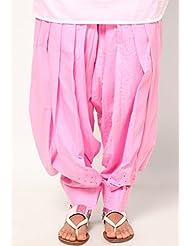Castle Women's Salwar (Baby Pink_Free Size) - B00RBN1UHG