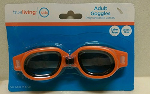 Adult Goggles Orange - 1