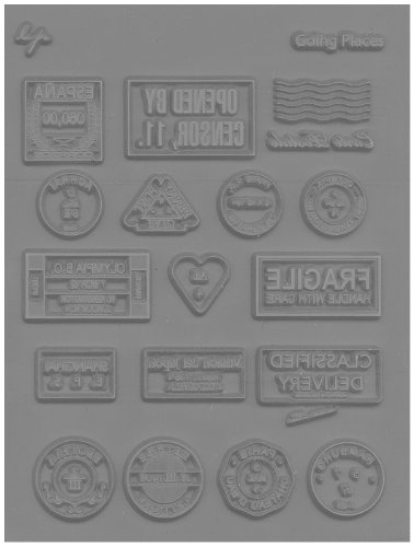 Lisa Pavelka 27231 Texture Stamp Going Places