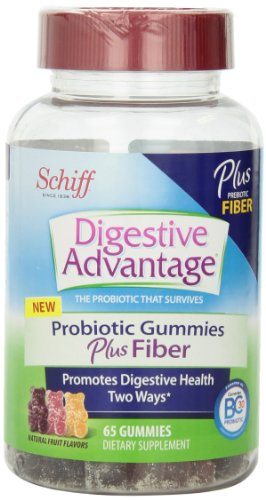 Digestive Advantage Probiotics Plus Fiber, 65 Count