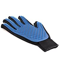 UCEC Dog Cat Grooming Glove Brush Pet Hair Remover Massage Glove for Dogs Horses Bunnies Cats Pet Massage & Bathing Brush & Comb