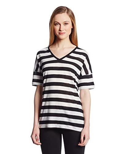NYDJ Women's Rugby Stripe Shirt
