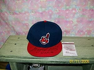 Gaylord Perry Signed Fitted Cleveland Indians Hat Hof91 - Autographed MLB Helmets and... by Sports+Memorabilia