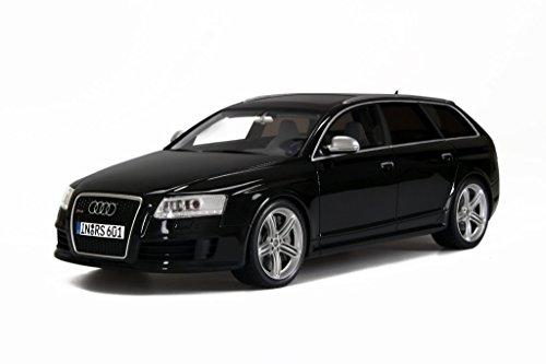 Audi-A6-C6-RS6-Avant-Plus-schwarz-Modellauto-OT613-Otto-118
