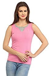 Cation Women Pink Top