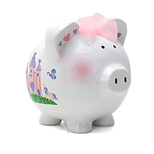 Child to Cherish Piggy Bank, Princess Castle