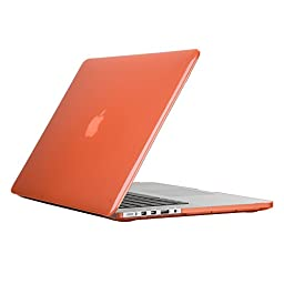 Speck Products SmartShell Case for MacBook Pro with Retina Display 15-Inch, Wild Salmon Pink (SPK-A2573)
