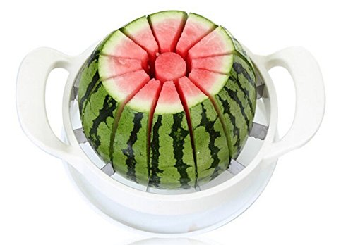 Take All The Work Out Of Preparing Canteloupe, Honeydew, Watermelon And Pineapple. The Cutter Removes The Core And Cuts 12 Even Slices In One Motion, Much Quicker And Safer Than Using A Knife. Body Is Plastic With Handles That Have Santoprene To Give A Gr