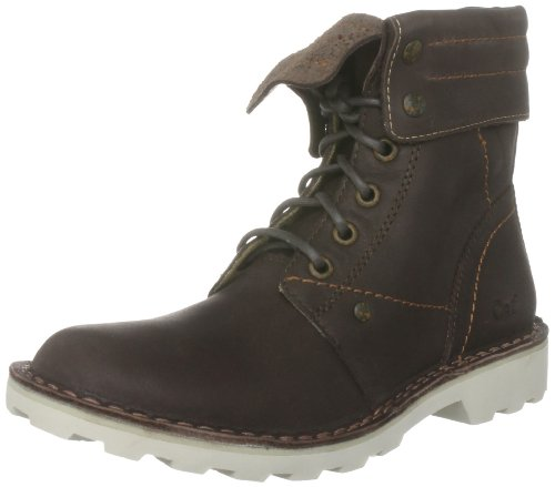 CAT Footwear Women's Cheltzie Leather Coffee Ankle Boots P304983 3 UK