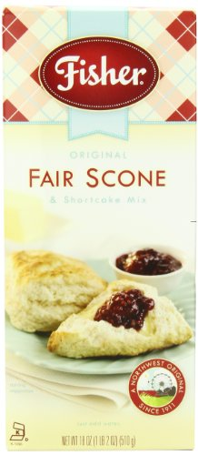 Fisher Original Fair Scone & Shortcake Mix, 18-Ounces (Pack of 6) (Scones Mix compare prices)