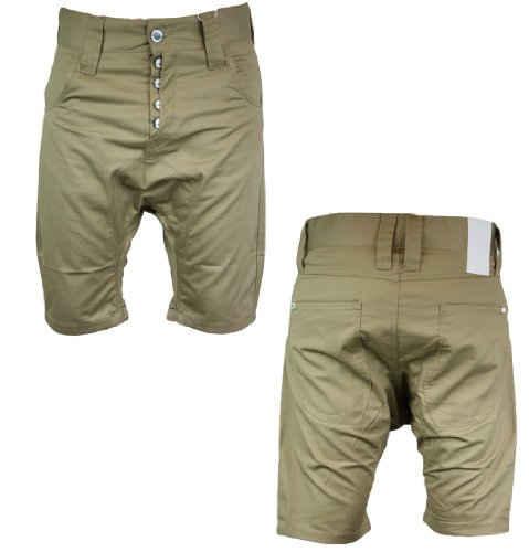 Humor 8112432 Lago Mens Chino Shorts SS12 Sandie Brown S