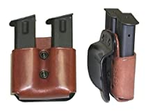 Galco DMP Double Mag Paddle for .45, 10mm Single Column Metal Magazines (Tan, Ambi)