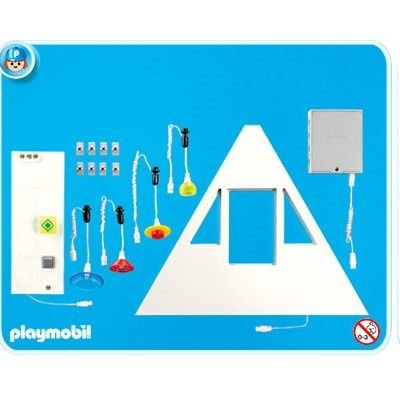 Redderial playmobil 7390 kit d clairage pour villa moderne for Extension maison 4279