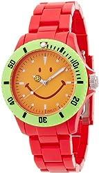 [Smiley] SMILEY watch SMILEY Harvey Ball (Smiley Harvey ball) Red WGHB-CS-RV01 [regular imported goods]