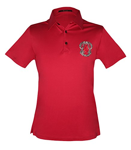 billionaire-couture-mens-red-cotton-polo-t-shirt-with-logo-embroidery-xl