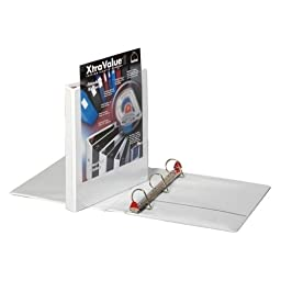 Cardinal Brands, Inc Clearvue Locking D-Ring Binder, 1-1/2\