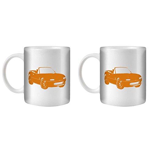 stuff4-tea-coffee-mug-cup-350ml-2-pack-orange-mx5-mx-5-white-ceramic-st10
