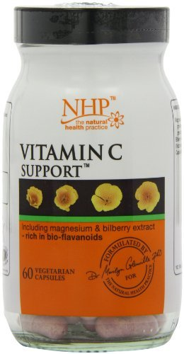Natural Health Practice Vitamin C Support Capsules - Tub Of 60