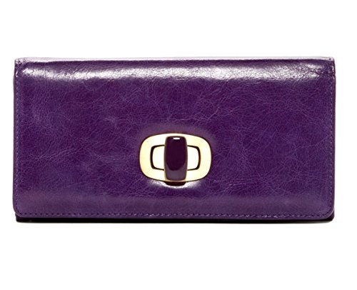 Hobo International Doria Clutch Wallet in Purple