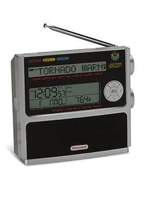 Honeywell RN507W NOAA FM Radio with Atomic Clock from Honeywell
