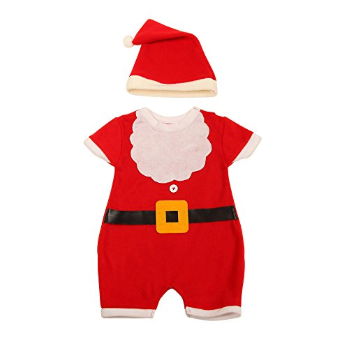 Archie Benson Christmas Santa Suit Costume Dress for Toddle Baby Kids Party