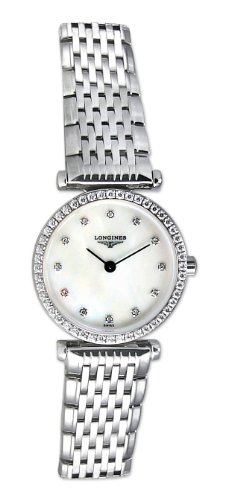 Longines La Grande Classique L42410806 24mm Silver Steel Bracelet & Case Synthetic Sapphire Women's Watch