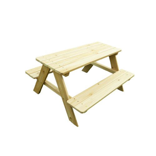 Merry Garden Kids Wooden Picnic Bench